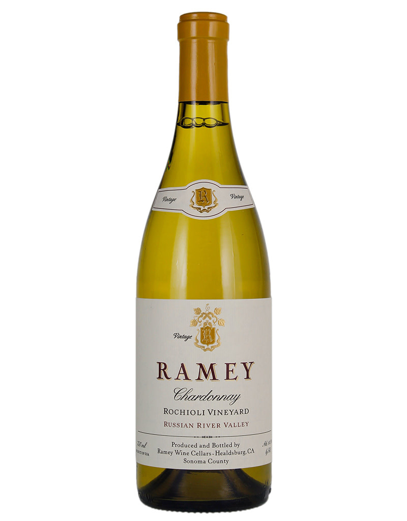 Ramey Ramey Wine Cellars 2016 Rochioli Vineyard Chardonnay, Russian River Valley, California