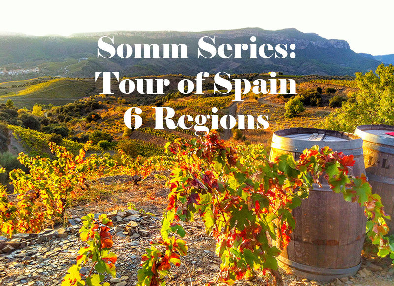 THU 10 OCT | Somm Series: Tour of Spain Tasting | 6 Regions