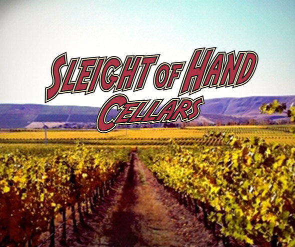 FRI 15 NOV 2019| Sleight of Hand Cellars Tasting | w. Trey Busch
