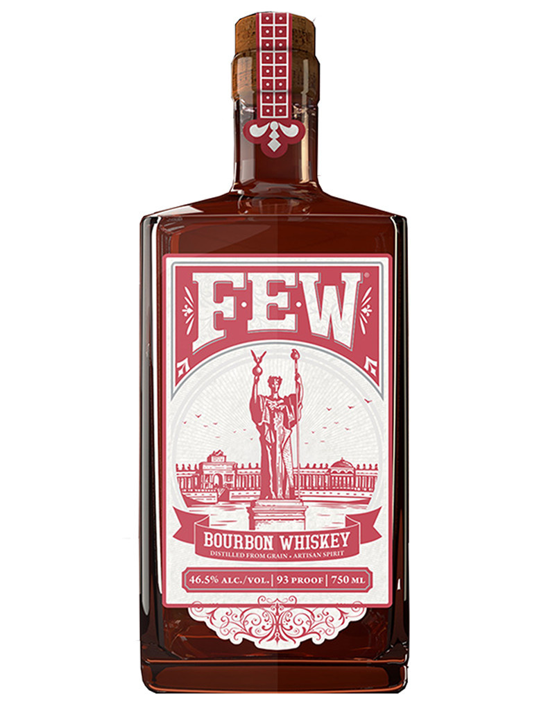 F.E.W. Spirits Bourbon Whiskey, Illinois, USA [93 Proof]