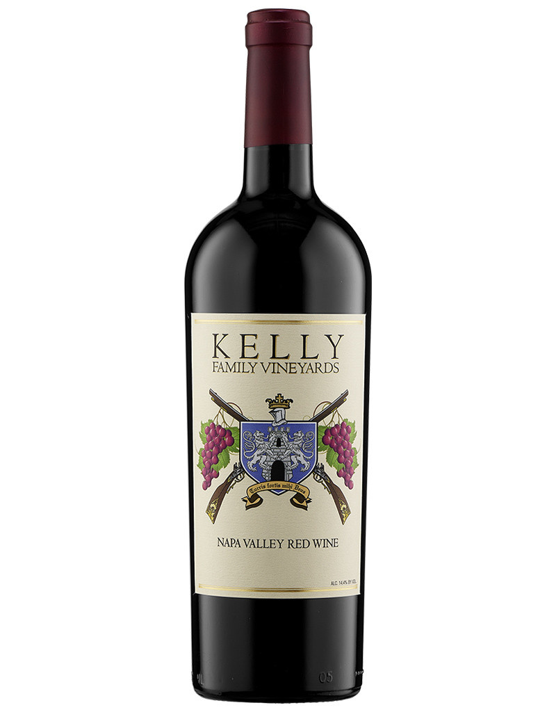 Kelly Family Vineyards 2012 Merlot, Oak Knoll District, California