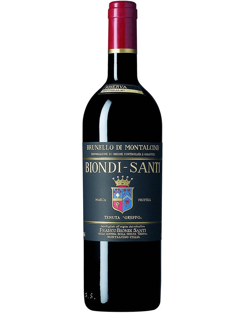 Biondi Santi 1995 Tenuta Greppo Riserva, Brunello di Montalcino DOCG, Italy