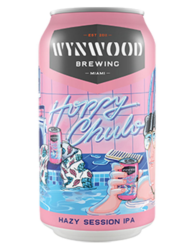Wynwood Brewing Company Hoppy Chulo Session IPA, 6pk Cans
