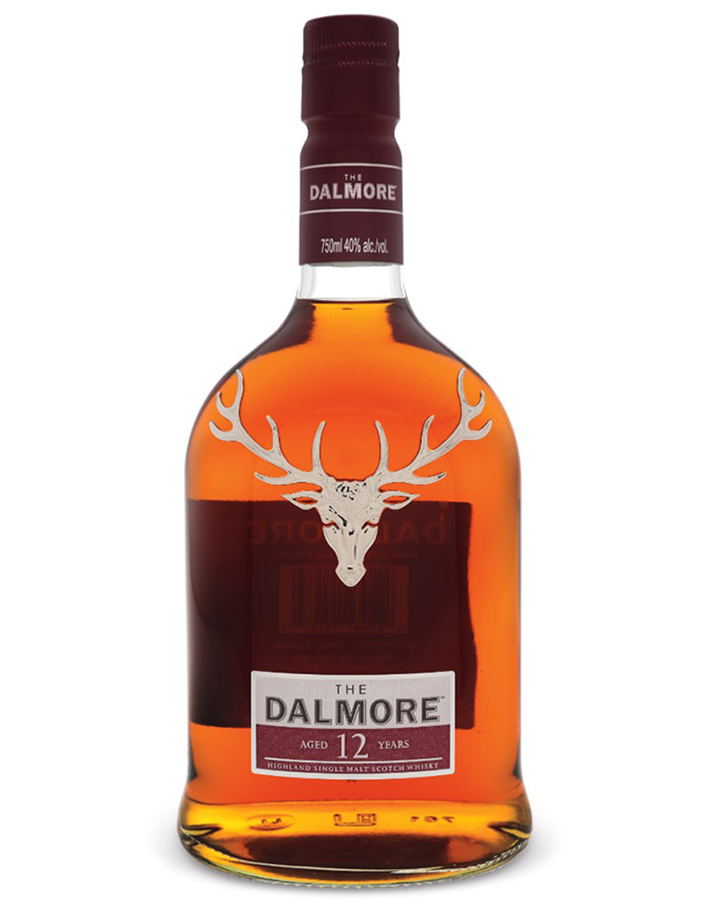 The Dalmore 12 Year Old Single Malt Scotch Whisky, Highlands, Scotland