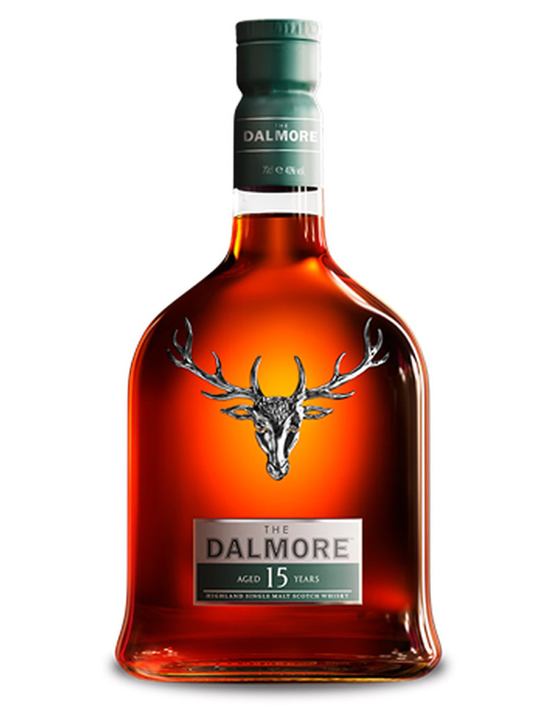 The Dalmore 15 Year Old Single Malt Scotch Whisky, Highlands, Scotland