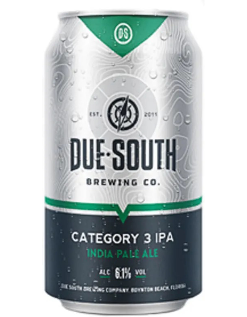 Due South Brewery Due South Category 3 IPA, 6pk Cans