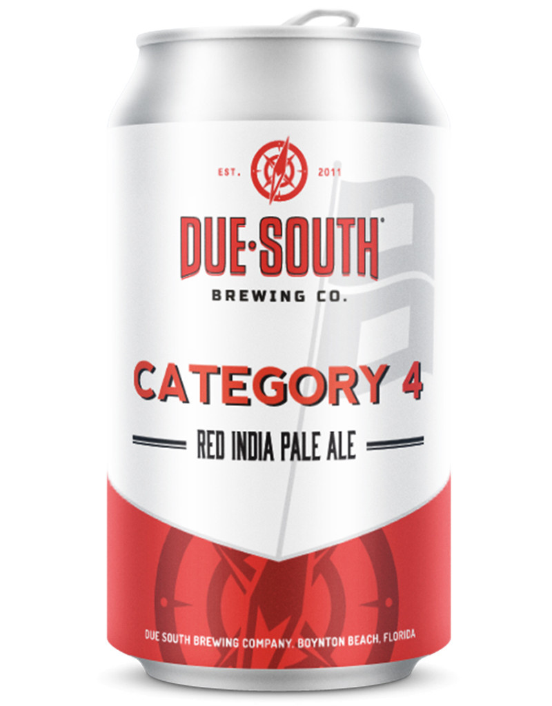 Due South Brewery Due South Category 4 Red IPA, 4pk Cans