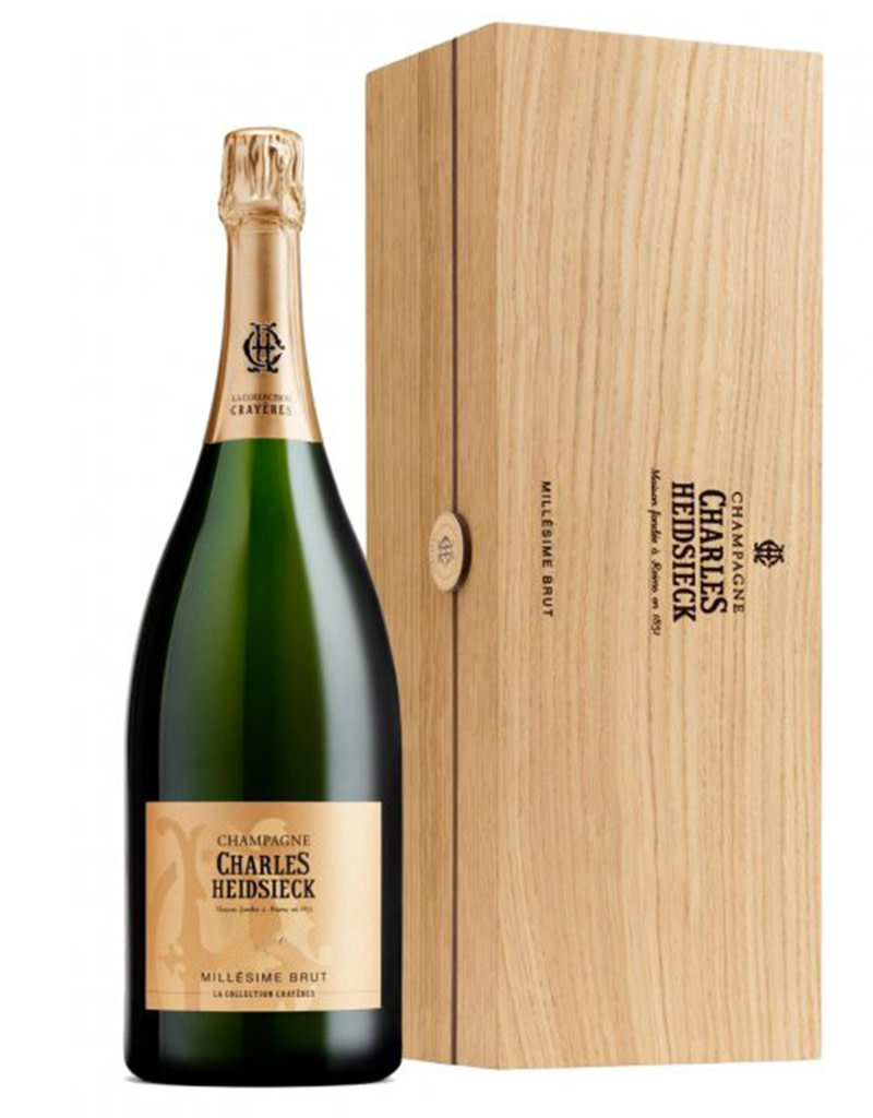 Charles Heidsieck 1989 Millésime Brut Collection Crayèress Champagne Blanco 3L