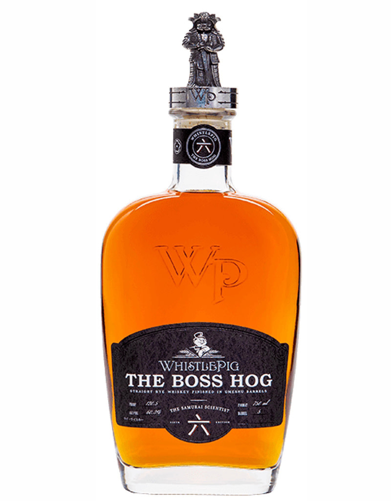 WhistlePig The Boss Hog VI 'The Samurai Scientist' 6th Edition 2019, Rye Whiskey