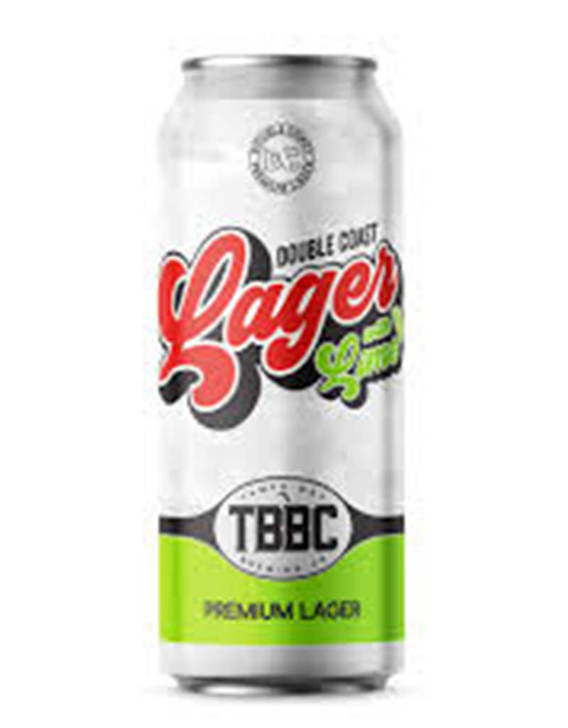 Tampa Bay Brewing Co. Double Coast Lager with Lime, 16oz Single Can