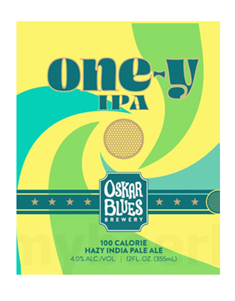 Meiomi Oskar Blues One-y Hazy IPA Beer, 6pk Cans