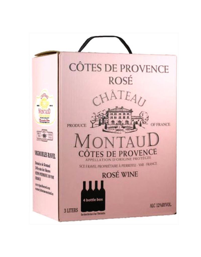 Château Montaud 2018 Côtes de Provence Rosé Box 3L