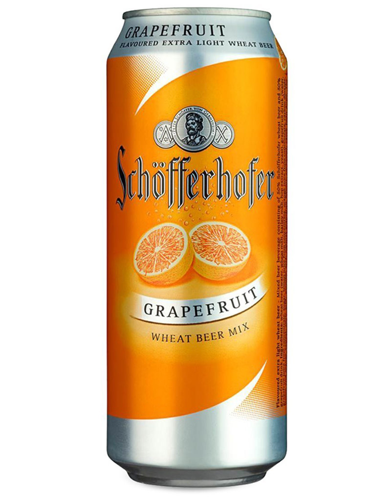Schofferhofer Hefeweizen Grapefruit Shandy Single Tall Can