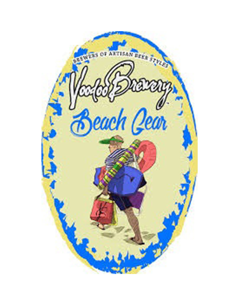 Voodoo Brewery Beach Gear Apricot Blonde Ale Single Can