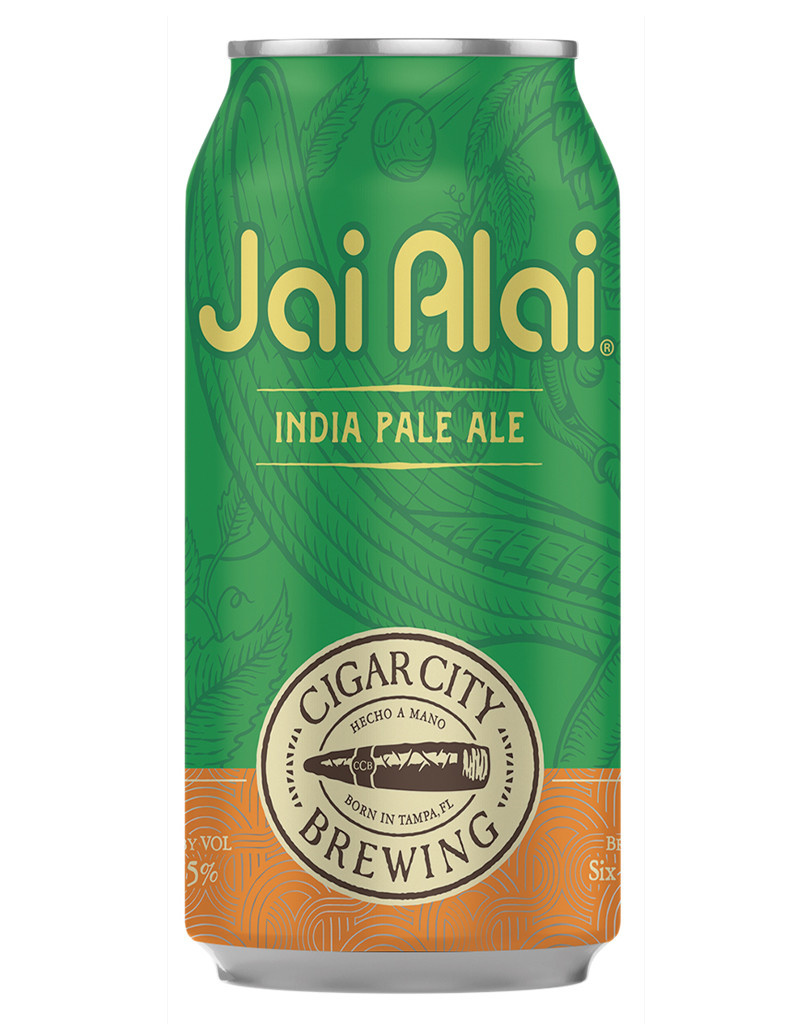 Cigar City Brewing Cigar City Jai Alai IPA, Tampla Single 16oz Can