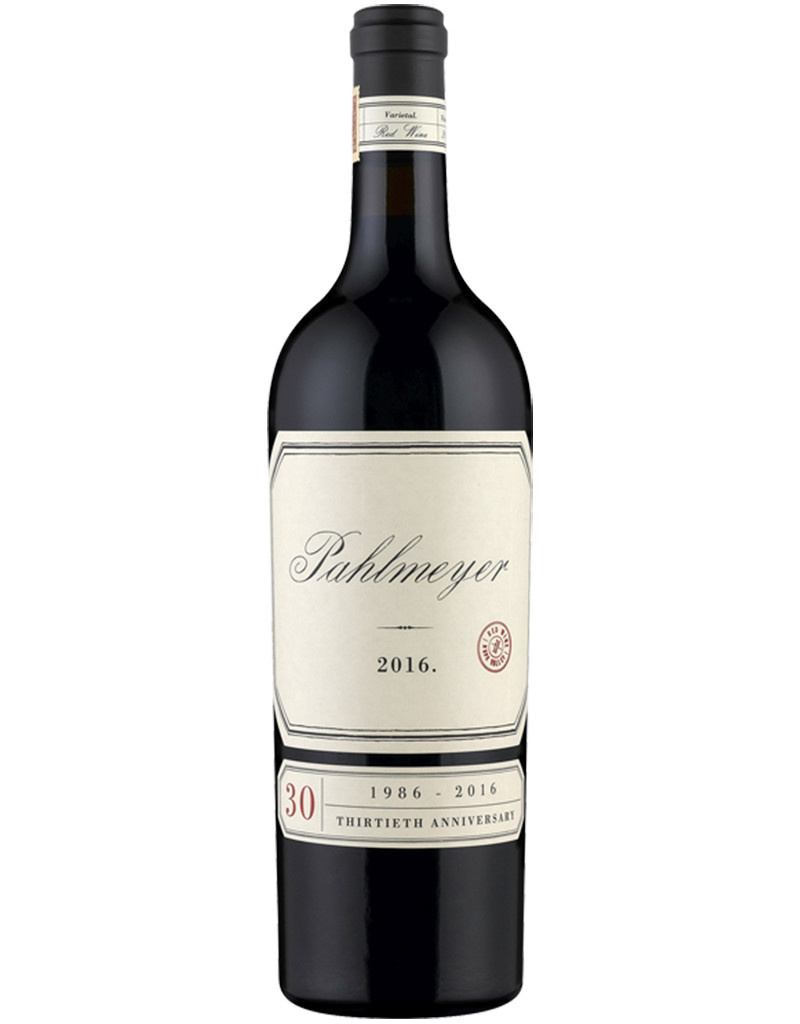 Pahlmeyer Pahlmeyer 2016 Red Blend '30th Anniversary', Napa Valley, California