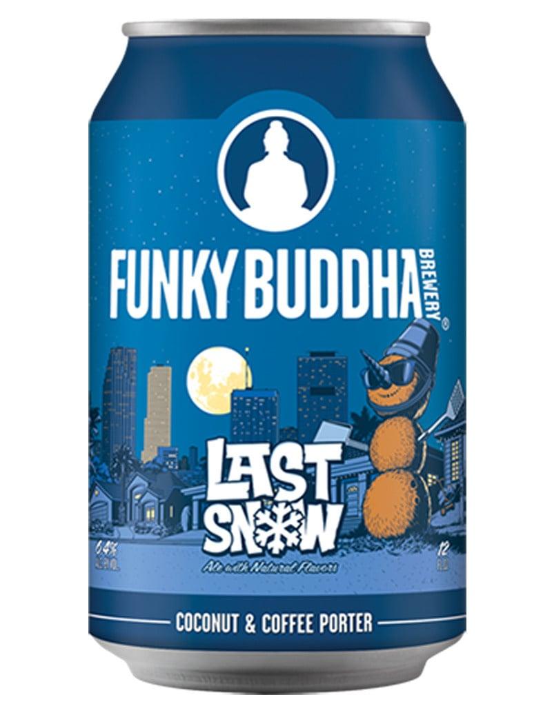 Funky Buddha Last Snow Coconut Coffee Porter, 6pk Cans