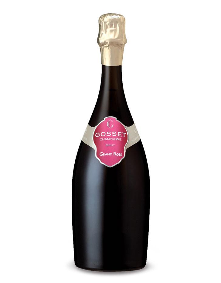 Gosset 'Grand Rosé' Brut, Champagne, France  1.5L