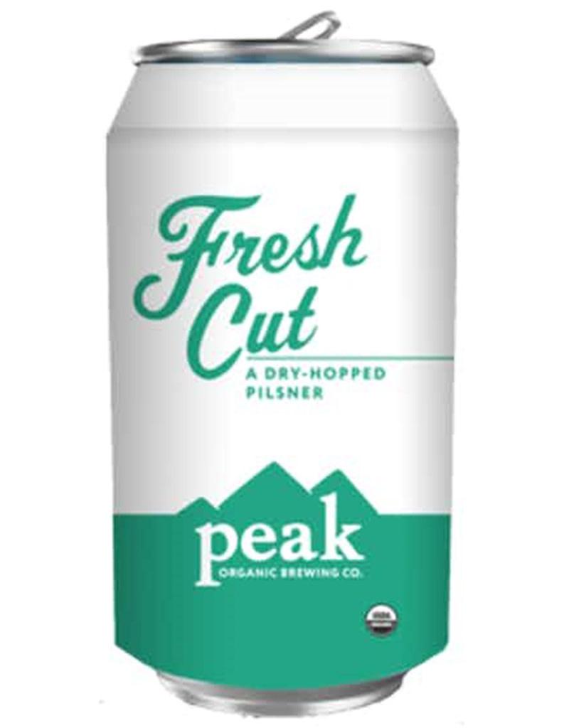 Peak Organic Organic Brewing Company Fresh Cut Pilsner, 6pk Cans