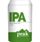 Peak Organic Organic Brewing Company IPA, 6pk Cans