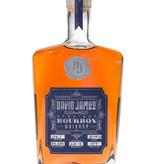 David James Straight American Bourbon Whiskey, Tennessee