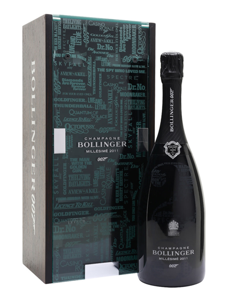 Bollinger La Grande Annee 2011 Brut James Bond 007 Edition, Champagne, France