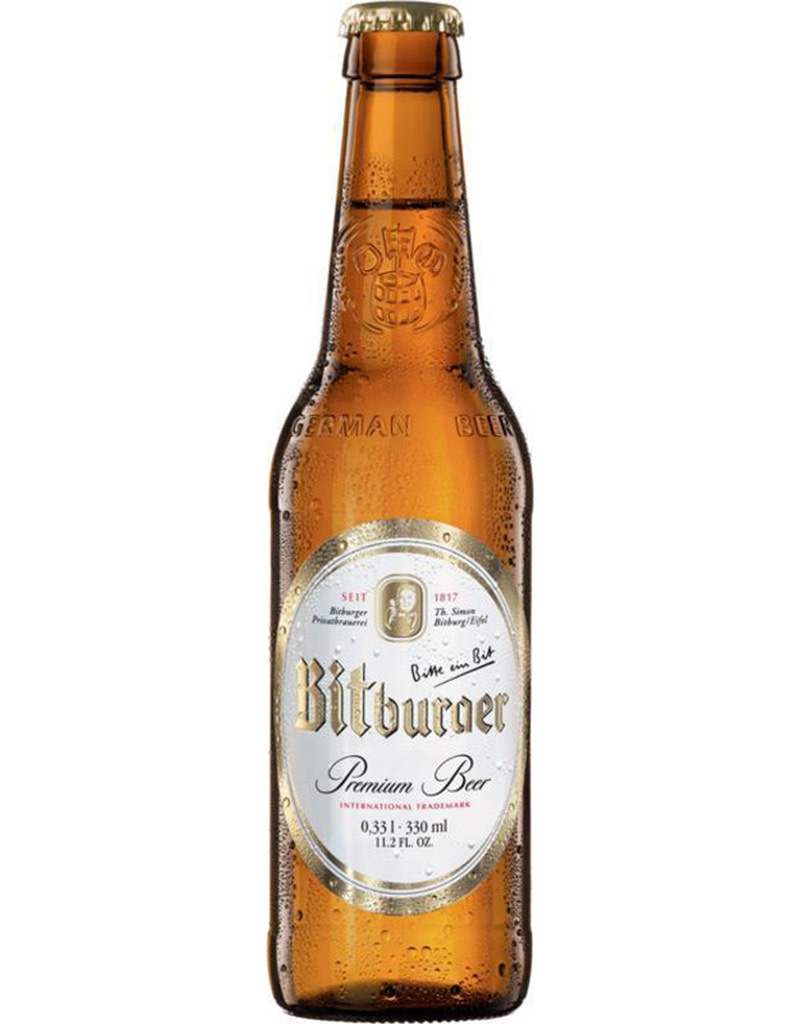 Bitburger German Pilsner Beer, 6pk Bottle