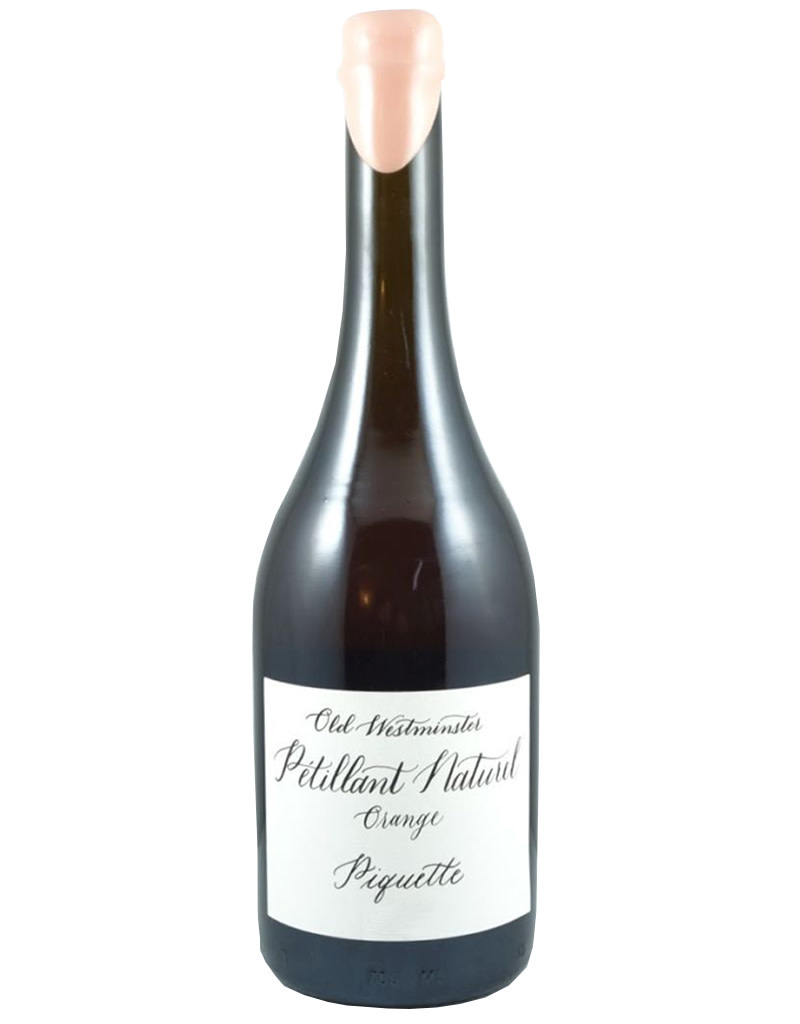 Old Westminster Winery 2019 Orange Piquette Petillant Naturel, Maryland