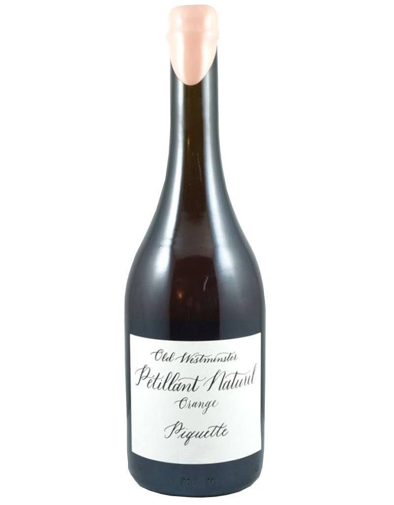 Old Westminster Winery 2020 Orange Piquette Petillant Naturel, Maryland