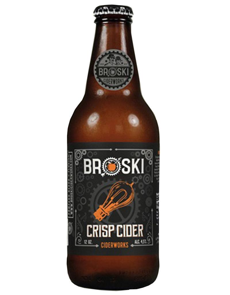 Broski Ciderworks Crisp Cider, 6pk Bottles