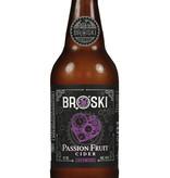 Broski Ciderworks Passionfruit Cider, 6pk Bottles