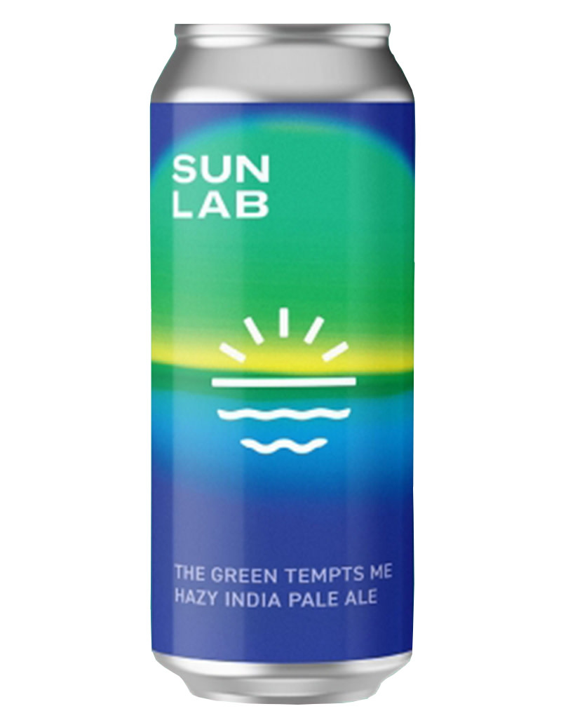 SUN LAB Brewing Co. The Green Tempts Me Hazy India Pale Ale 16oz Single Can Beer