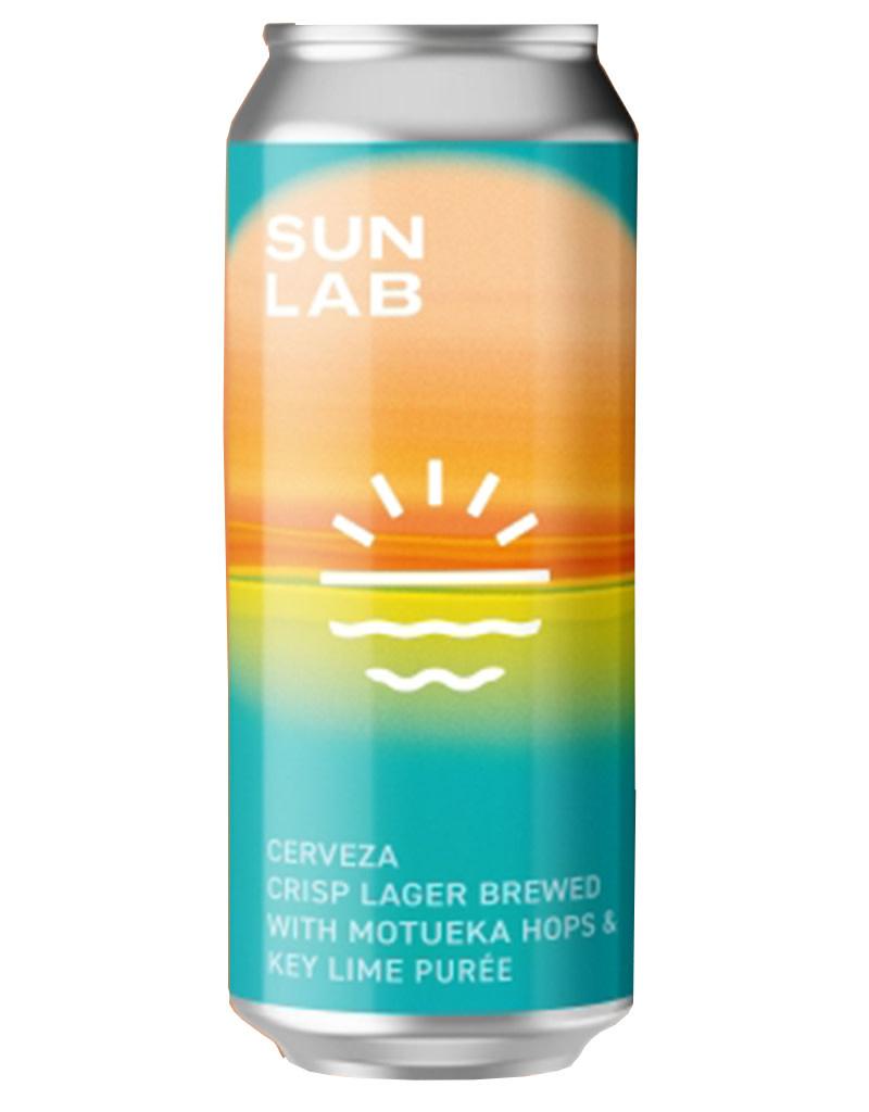 SUN LAB Crisp Lager Cerveza 16oz Single Can Beer