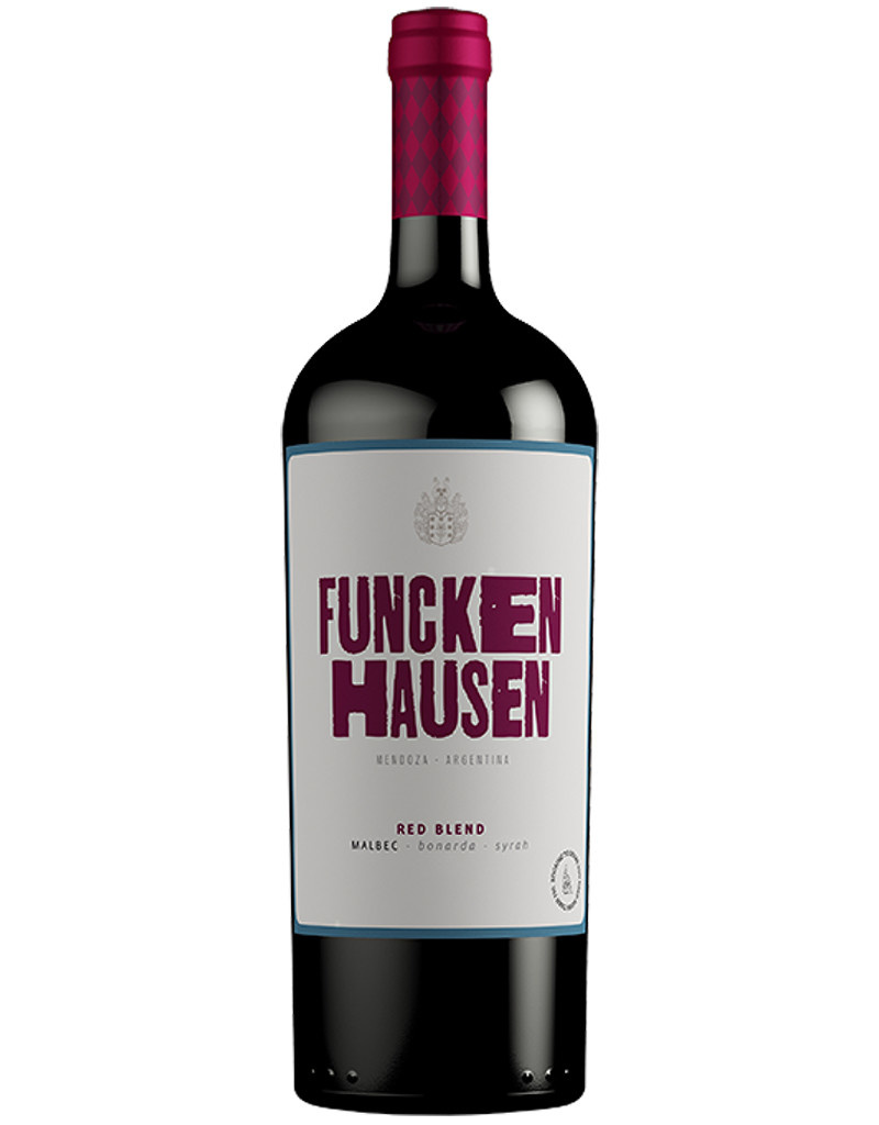 Funckenhausen Vineyards 2016 Red Blend, San Rafael, Argentina 1L