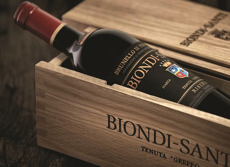 WED 11 MAR |  BIONDI-SANTI Tasting | The Grove | $275pp