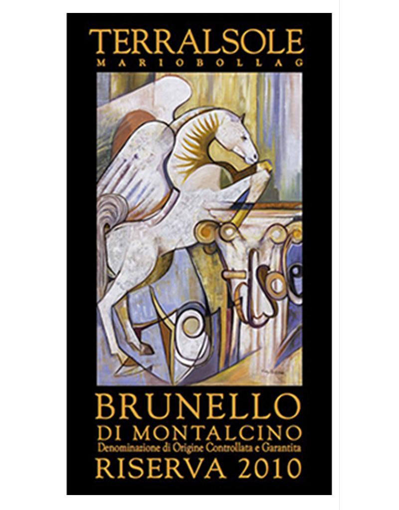 Terralsole 2010 Brunello di Montalcino Riserva, DOCG, Tuscany, Italy