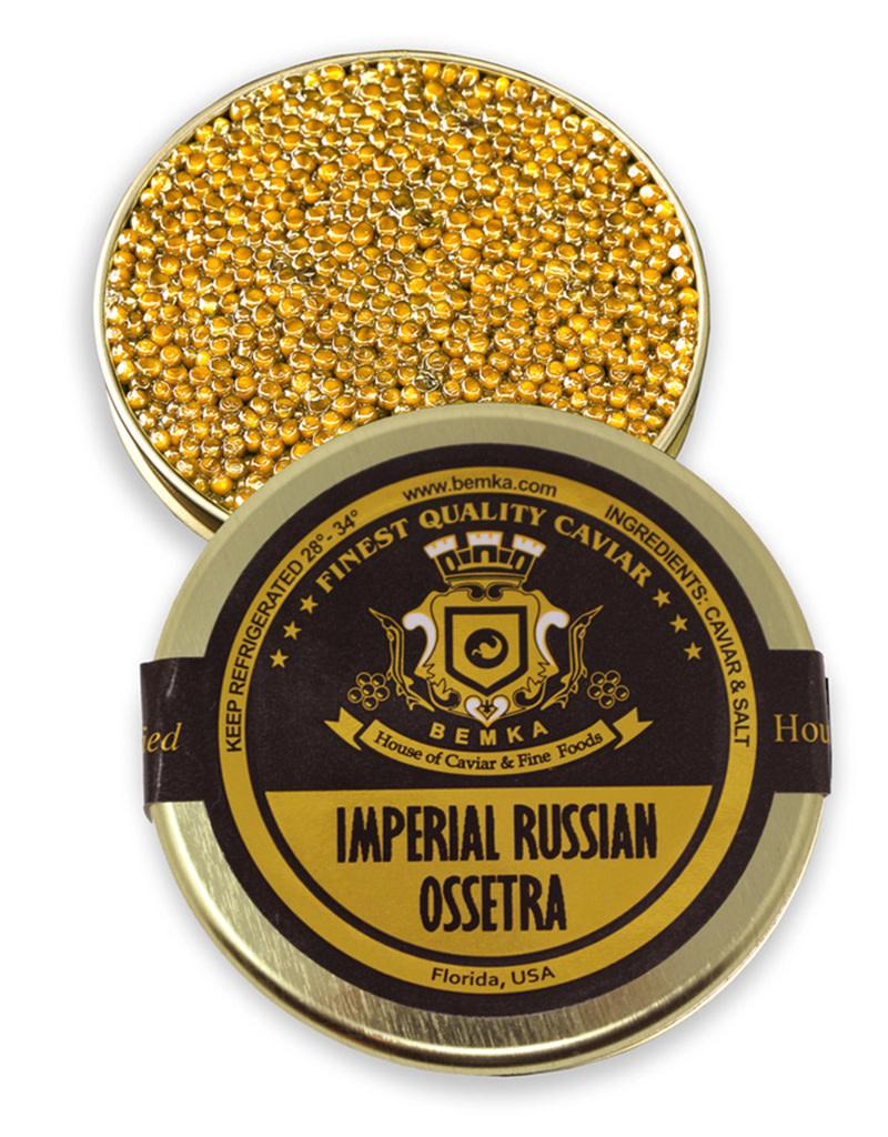 Imperial Russian Ossetra Caviar 1oz (28g)