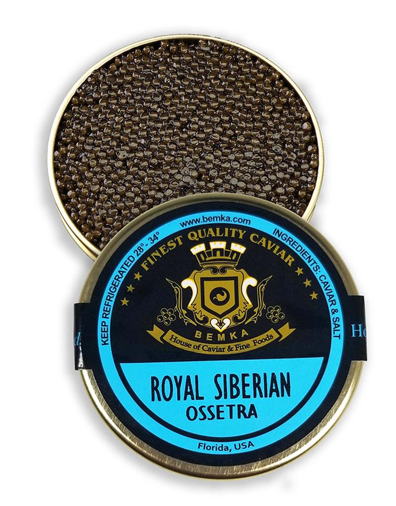 Royal Siberian Ossetra Caviar 1oz (28g)