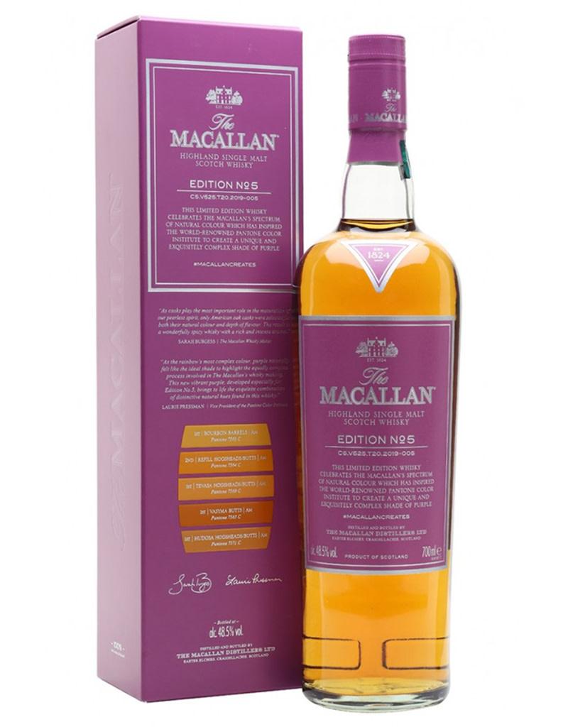 The Macallan Edition No. 5 Scotch Whisky, Speyside - Highlands, Scotland