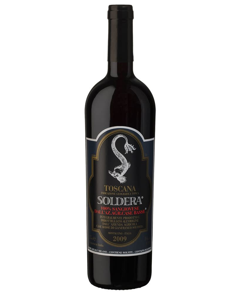 Soldera 2014 Case Basse 100% Sangiovese Toscana IGT, Italy