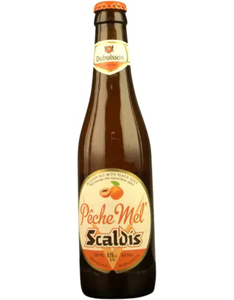 Brasserie Dubuisson Scaldis, Pêche Mel, Belgian Ale with Peach Juice, 4pck Bottle