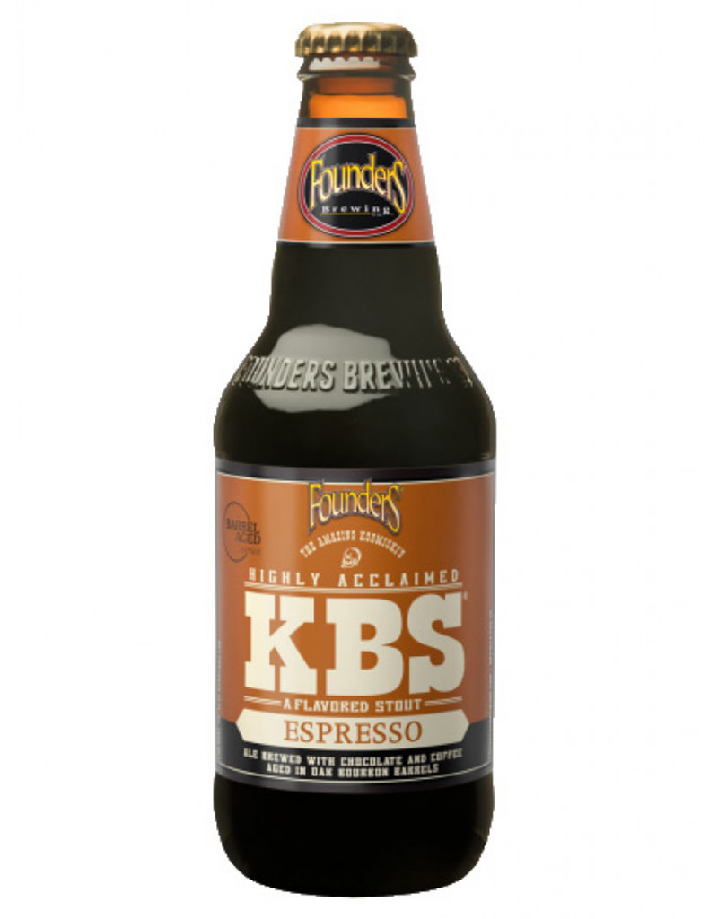 Founders Brewing Co. Espresso KBS, 4pk Bottles