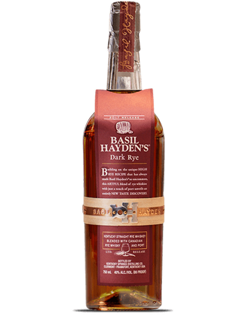 Kentucky Springs Distilling Basil Hayden's 'Dark Rye' Straight Rye Whiskey, Kentucky