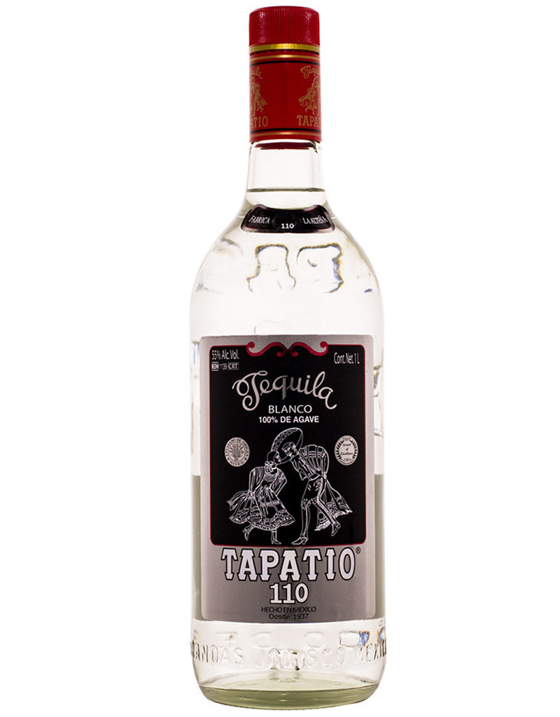 Tapatio Blanco 110 Proof, Tequila, Mexico 1L