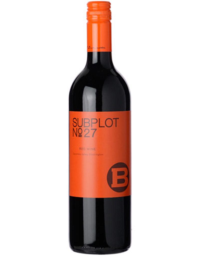 J. Bookwalter Winery 2016 Subplot Red, Columbia Valley, Washington