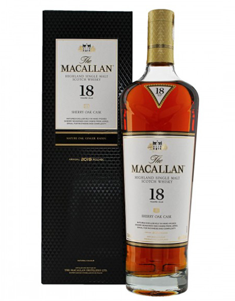 The Macallan 18 Year Sherry Cask, Scotch Whisky, Speyside, Scotland