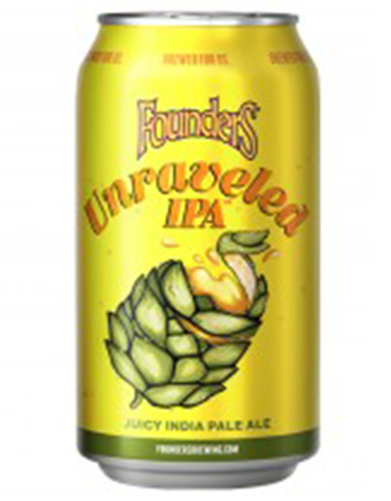 Founders Brewing Unraveled IPA Beer, 6pk Cans