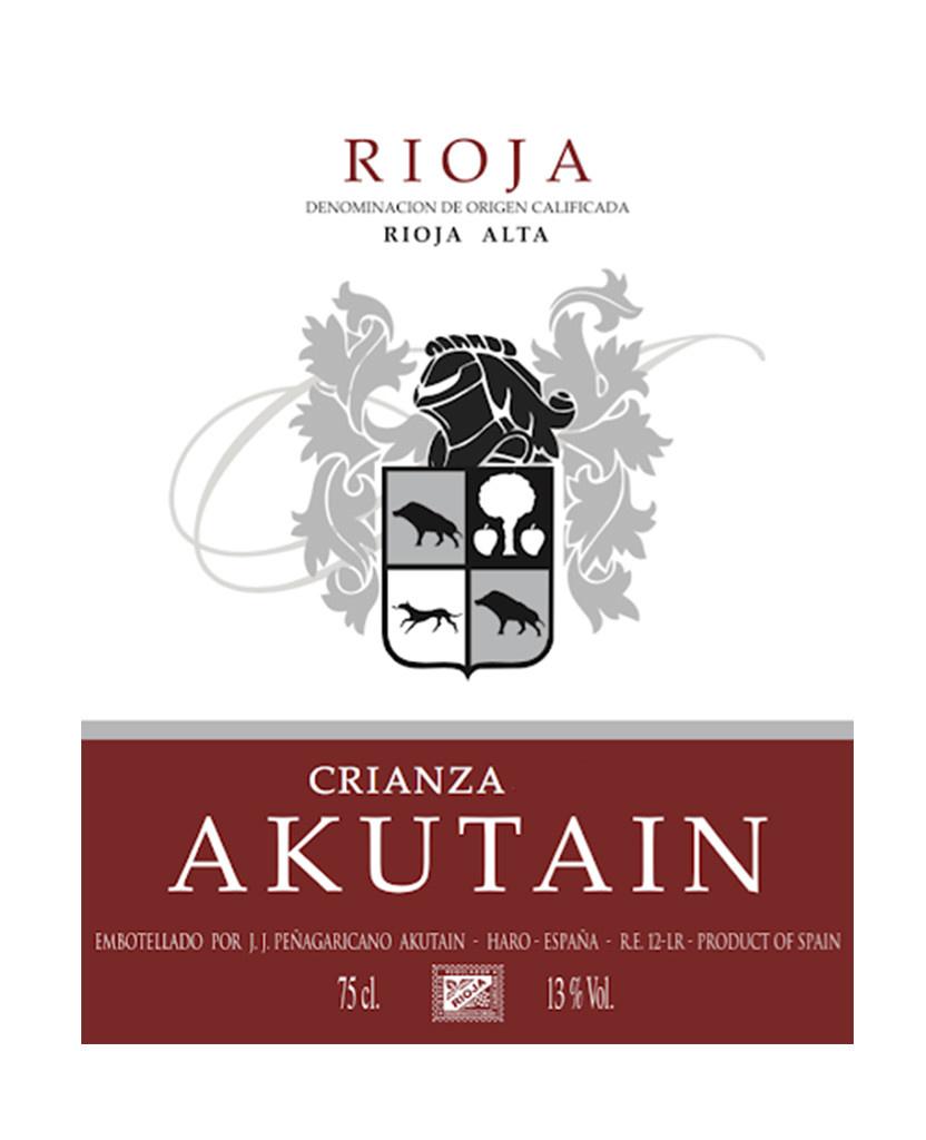Bodegas Akutain 2016 Crianza, Rioja DOCa, Spain