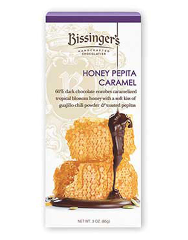 Bissinger's Honey Pepita Chocolate Bar