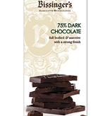 Bissinger's 75% Dark Chocolate Bar